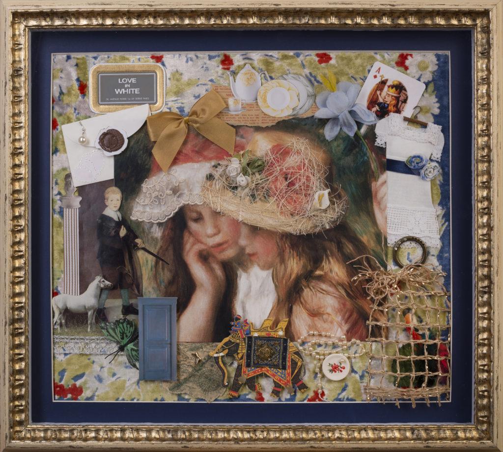 LOVE IN WHITE (by P.-O Renoir) 2017 «Ճերմակազգեստ սեր» (ըստ Պ.-Օ. Ռենուարի)