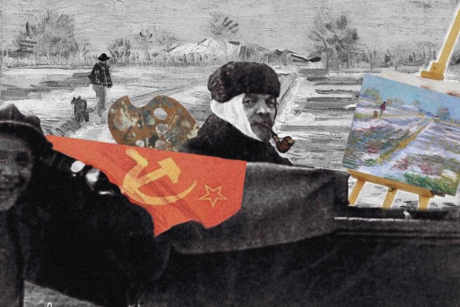 Lenin in February